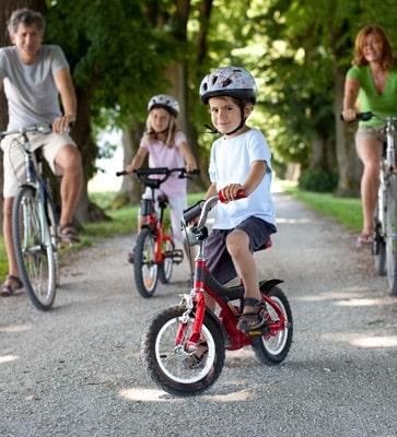 Feriendörfer für den Fahrradurlaub