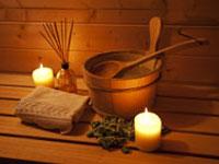 Ferienhäuser mit Sauna