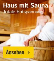 Haus mit Sauna