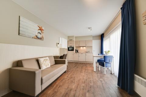 2-Personen Ferienwohnung Studio Type 20 - Bedroom