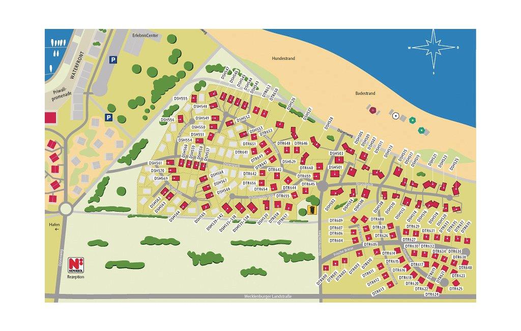 Novasol Ferienpark Travemünde Strand - Priwall