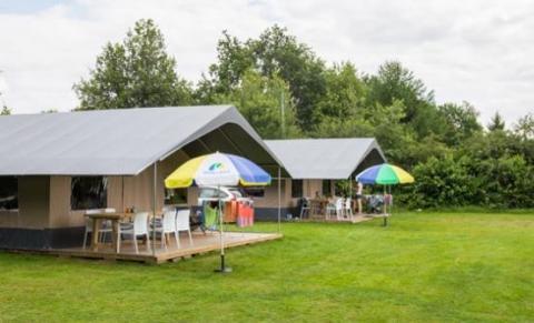 6-Personen Möbliertes Zelt Fryske tent