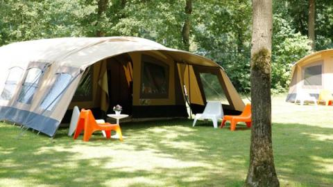 6-Personen Möbliertes Zelt Molecaten