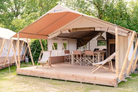 5-Personen Möbliertes Zelt Safaritent