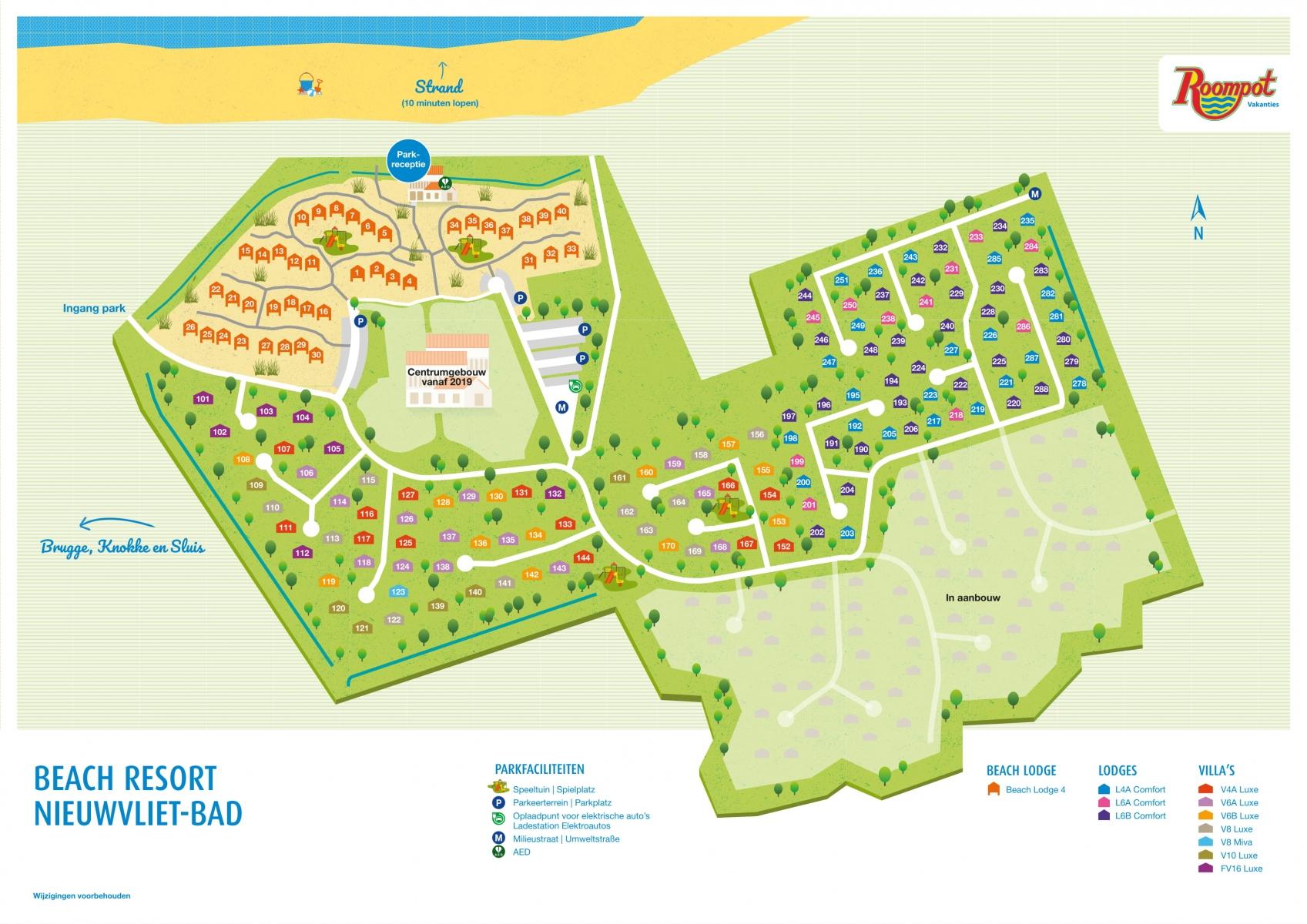 Roompot Beach Resort Nieuwvliet-Bad