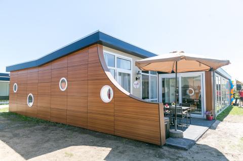 6-Personen Ferienhaus Kajuit Luxe
